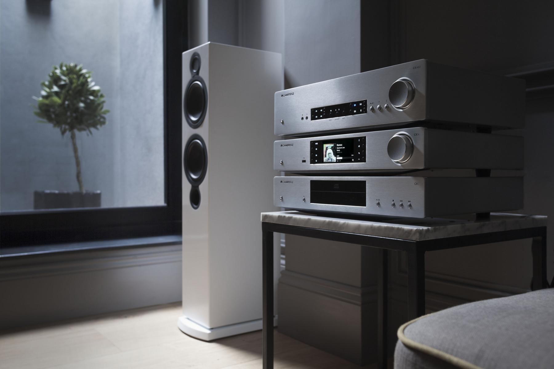 K1600 Cambridge Audio CXC CXN CXA60 Lifestyle Silver 1
